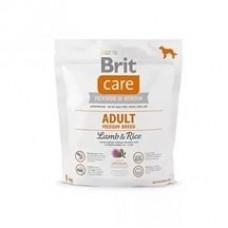 Brit Care Adult Medium Breed Lamb & Rice с рисом и ягненком для взрослых собак средних пород
