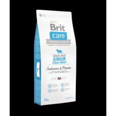 Brit Care Grain-free Junior Large Breed Salmon & Potato собак пород
