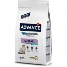 Advance (Эдванс) Sterilized Hairball Turkey & Barley Корм для стерилизованных кошек с индейкой и ячменем