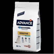 Advance (Эдванс) Sterilized Salmon Sensitive Сухой корм кастрированных/стерилизованных с лососем и ячменем