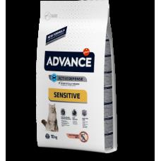 Advance (Эдванс) Cat Adult Sensitive Salmon & Rice Корм для взрослых котов с лососем и рисом