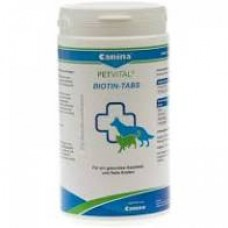 Витамины для кошек и собак Canina «PETVITAL Biotin-Tabs»  (для кожи и шерсти)