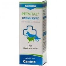 Витамины для кошек и собак Canina «PETVITAL Derm-Liguid» (для кожи и шерсти)