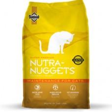 Nutra Nuggets MAINTENANCE Cat Сухой корм для взрослых кошек (желтая)