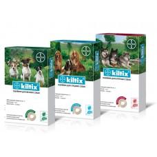 Bayer Kiltix ошейник для собак от блох и клещей, 48 см