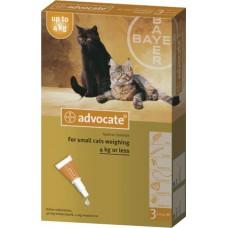 Advocate (Адвокат) капли для кошек весом до 4 кг (1 пипетка)