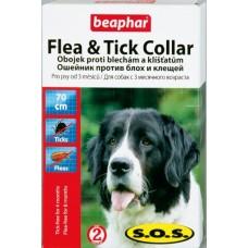 Beaphar SOS Flea and Tick Collar ошейник против блох и клещей 70 см