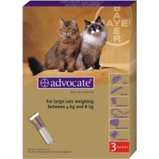 Advocate (Адвокат) капли для кошек весом от 4 кг до 8 кг (1 пипетка)
