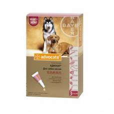 Advocate (Адвокат) капли для собак весом от 10 до 25 кг (1 пипетка)