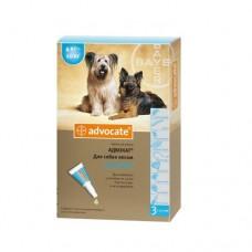 Advocate (Адвокат) капли для собак весом от 4 до 10 кг (1 пипетка)