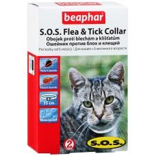 Beaphar SOS Flea and Tick Collar ошейник против блох и клещей 35 см