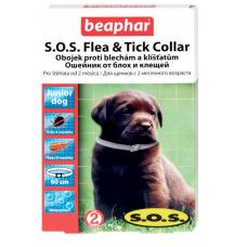 Beaphar SOS Flea and Tick Collar ошейник против блох и клещей для щенков 60 см