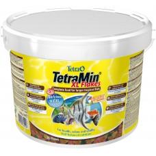 TetraMin XL Flakes Полноценный корм для больших тропических рыб (крупные хлопья) 2,1 кг