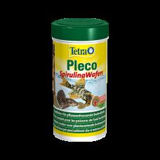 Tetra Pleco Algae Wafers - полноценный основной корм для крупных травоядных рыб