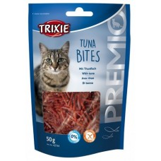Лакомства для кошек Trixie 42734 Premio Tune Bites с тунцом