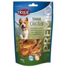 Лакомства для собак Trixie 31582 Premio Banana & Chickies с курицей и бананом