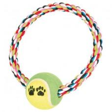 Канат - кольцо с мячем Trixie 3266