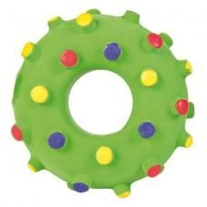 Латексная игрушка для собак Trixie 35612 Кольцо с шипами (8 см)