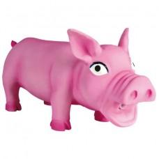 Латексная игрушка для собак (Свинья хрюкающая) Trixie 35491 средняя