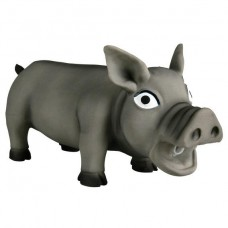 Латексная игрушка для собак (Свинья хрюкающая) Trixie 35490 малая