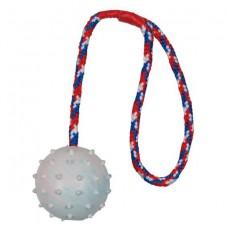 Мяч резиновый на веревке 7 см Trixie 3308