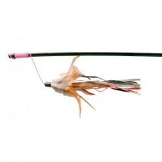Trixie удочка с перьями 50 см Trixie 4550