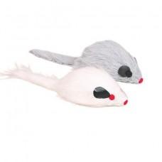 Trixie мышиный парад - Мышь меховая 9 см