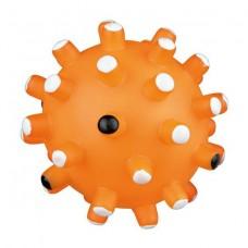 Виниловый ежик мяч с пищалкой Trixie 3429 средний 10 см