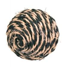 Trixie 4075 мяч-когтеточка сезалевый 6,5 см