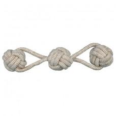 Канат c 3-мя вязаными мячами Trixie 32645