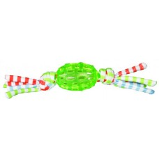 Игрушка для собак Trixie 33531 Регби мяч резиновый с хвостиками