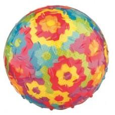 Игрушка для собак Trixie 33541 Мяч в цветочек с пищалкой