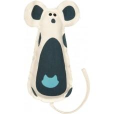Игрушка для кошек Trixie 45770 Мышь хрустящая с кошачьей мятой