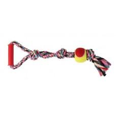 Канат с узлами, мячом и ручкой Trixie 3280